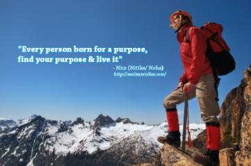 Find your Purpose motivatetolive blog