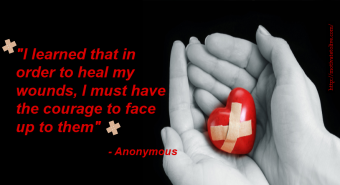 Heal wound quote