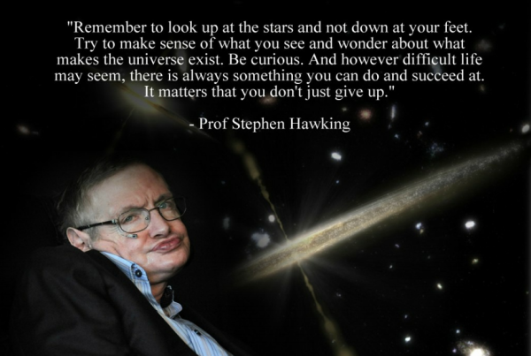 Stephen Hawking Motivate to live blog
